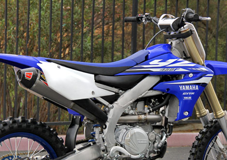 2018 YZ450F Exhaust