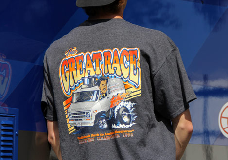 The Great Race Tee