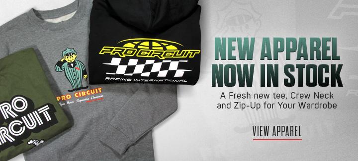 Pro Circuit Original Logo Mens Short Sleeve T-Shirt White//Black//Yellow