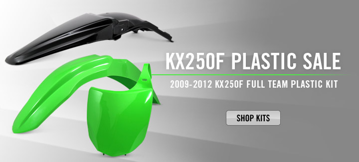 KX250F Plastic Kit '09-12