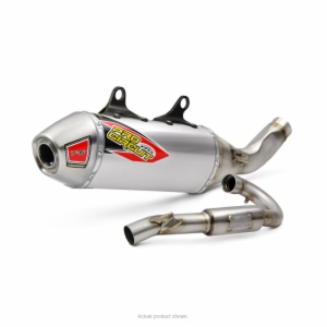 T-6 STAINLESS SYSTEM W/REMOVABLE SPARK ARRESTOR KTM 350SX-F '2019