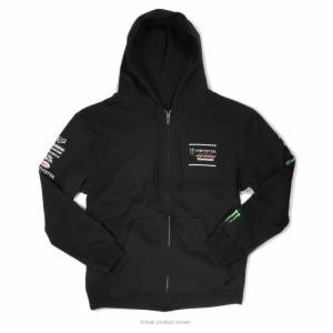 2019 P/C-MONSTER TEAM LOGO ZIP HOODY, SMALL