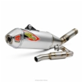 T-6 STAINLESS SYSTEM W/REMOVABLE SPARK ARRESTOR KX450F 19-20