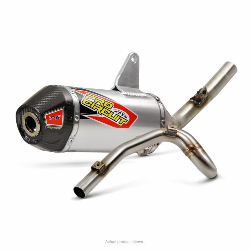 Pro Circuit KLX140//L 2008-2018 T-4 Full exhaust system w// spark arrestor 4K08140