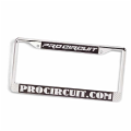 License Plate Frame (Chrome)