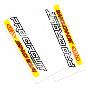 PRO CIRCUIT SHOWA FORK DECALS