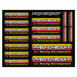 PC ORIGINAL LOGO DECAL SHEET