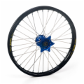 HAAN BLACK FRONT RIM/BLUE HUB KX85 SMALL WHEEL 1997-2013