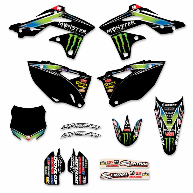 Monster Energy Sticker Kits Yamaha
