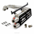 T-5 STAINLESS DUAL SYSTEM W/SPARK ARRESTOR RZR XP 900 '13-14