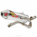 T-6 STAINLESS SINGLE SYSTEM, CRF450R '13-14