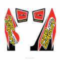 REPLACEMENT T-6 WRAP AND END CAP DECAL YZ250F