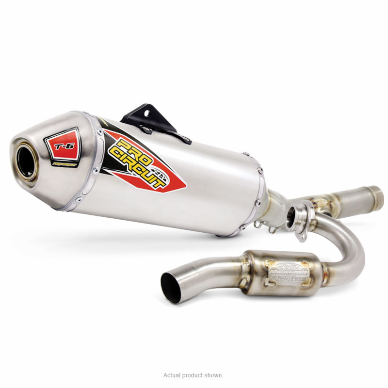 T-6 Stainless System KX250F '09-14