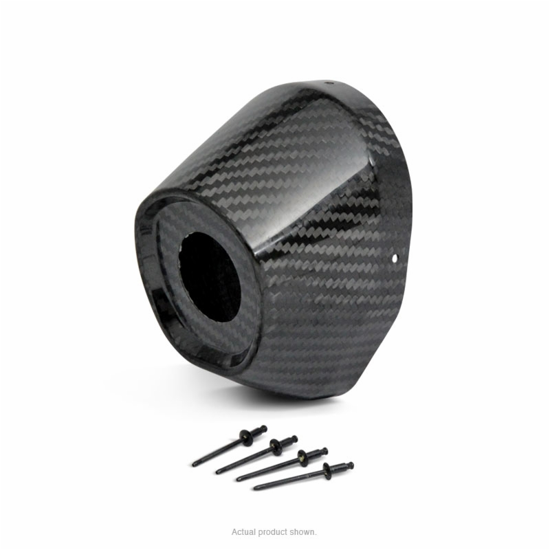Carbon fiber end cap dual replacement quot w hole