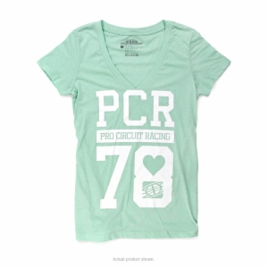 PCR WOMEN V-NECK TEE SM