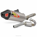 TI-6 SYSTEM W/CARBON END-CAP, CRF150R '07-16