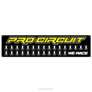 PRO CIRCUIT # PLATE BANNER