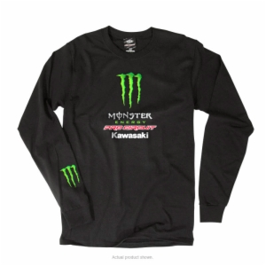 PRO CIRCUIT/MONSTER TEAM LONG SLEEVE TEE SM 3 PANEL