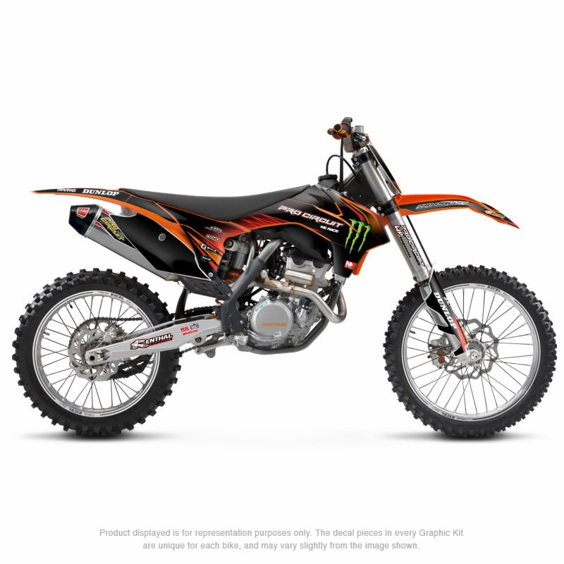 Ktm Graphic Kit Ktm 65 Sx 09 13