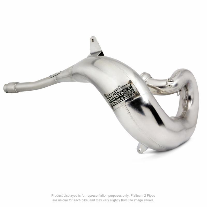 platinum 2 pipe ktm 200 exc '00-06
