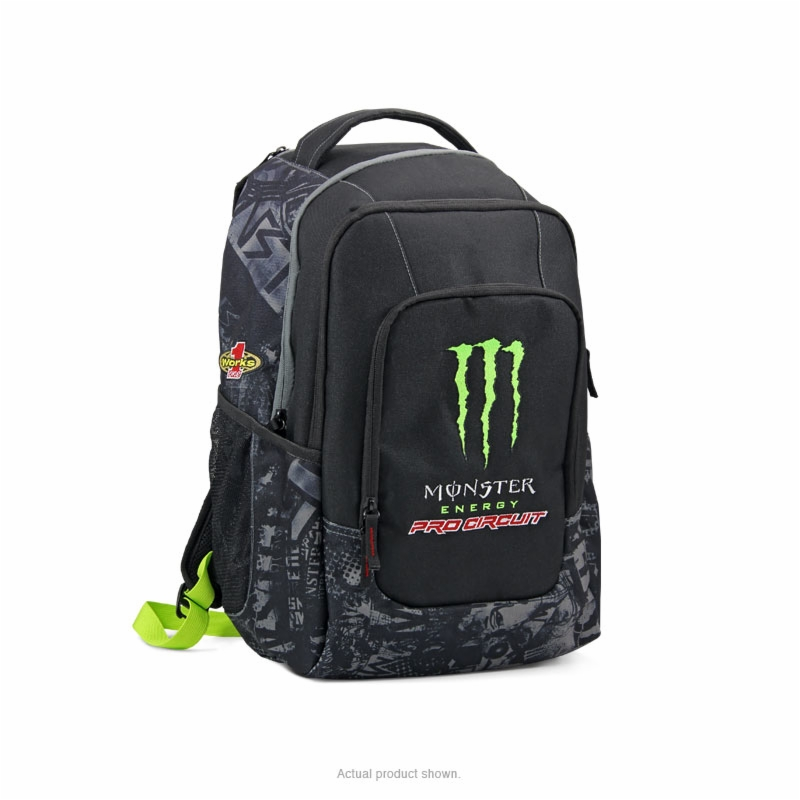 pc monster graffiti backpack