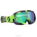 SCOTT/PRO CIRCUIT LIMITED HUSTLE GOGGLE, BLACK/GREEN