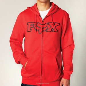 FOX LEGACY FHEADX ZIP-UP FLEECE, LARGE