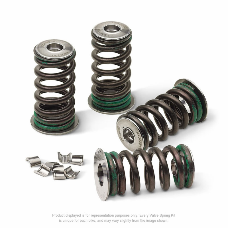 Pro X Steel Exhaust Valve//Spring Kit for KTM Street Motorcycles