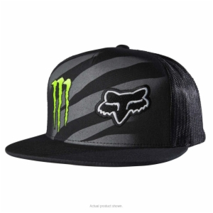 '17 FOX MONSTER ZEBRA HAT