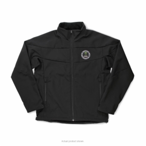 P/C PATCH SOFT-SHELL JACKET, SMALL