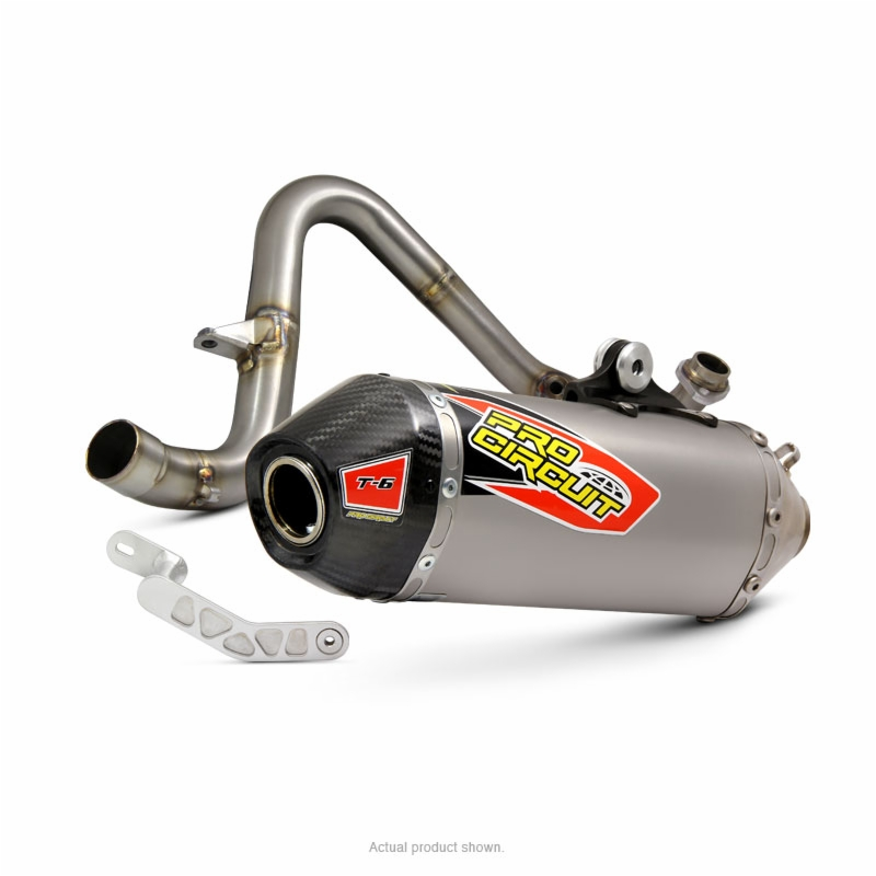 T 6 Stainless Steel Exhaust Z125 Pro 17