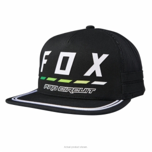 FOX PC DRAFTR SNAPBACK HAT [BLK]
