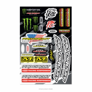 2018 PRO CIRCUIT DELUXE DECAL SHEET