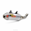 T-6 STAINLESS SLIP-ON W/REMOVABLE SPARK ARRESTOR, KTM SX 19-20 /HUSQVARNA FC 450 19-21 , FACTORY EDITION 2018